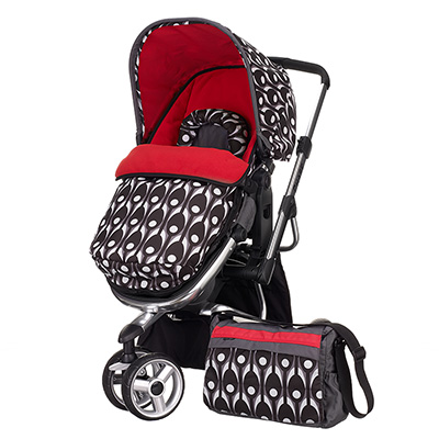 CHASE 3 WHEELER STROLLER - ECLIPSE (Plus Free Carrycot)
