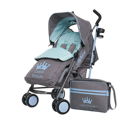 ZEAL STROLLER BUNDLE - LITTLE PRINCE