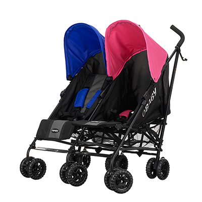 APOLLO TWIN - BLACK/GREY with PINK & BLUE HOODS