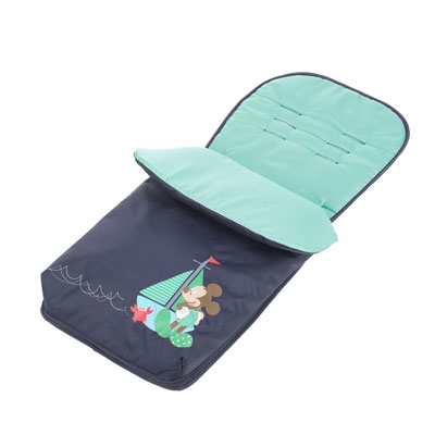 DISNEY MICKEY MOUSE FOOTMUFF - NAVY