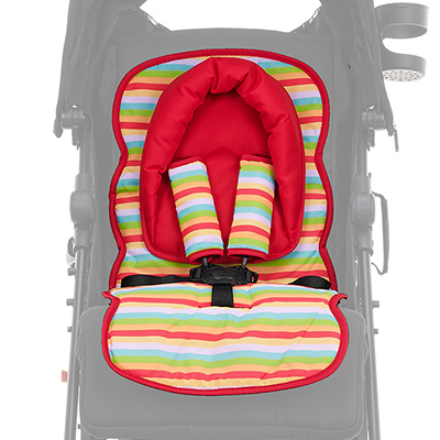 UNIVERSAL SEAT LINER SET  - RED HOOP