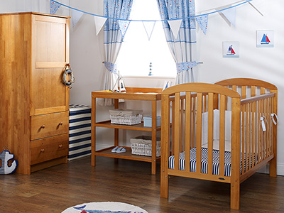 LILY 3 PIECE ROOM SET - COUNTRY PINE