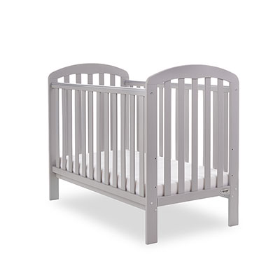 LILY COT - WARM GREY (FREE FOAM MATTRESS)
