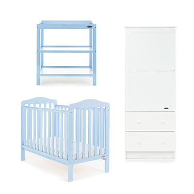 LUDLOW 3 PIECE ROOM SET - BONBON BLUE