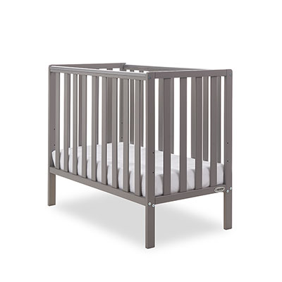 BANTAM SPACE SAVER COT - TAUPE GREY