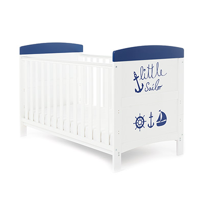 GRACE INSPIRE COT BED - LITTLE SAILOR