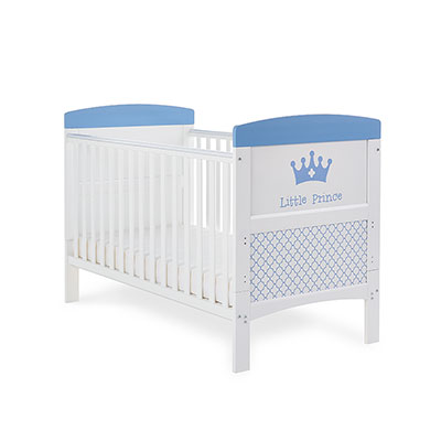 GRACE INSPIRE COT BED - LITTLE PRINCE (FREE FOAM MATTRESS)
