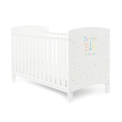 GRACE INSPIRE COT BED - DREAM BIG LITTLE ONE