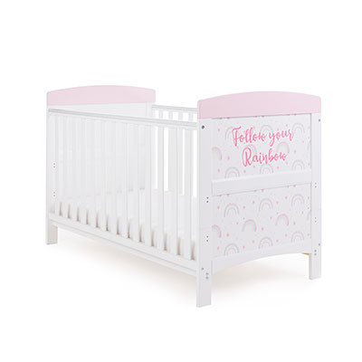 GRACE INSPIRE COT BED - RAINBOW