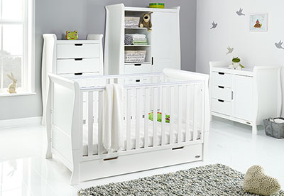STAMFORD CLASSIC 4 PIECE ROOM SET - WHITE