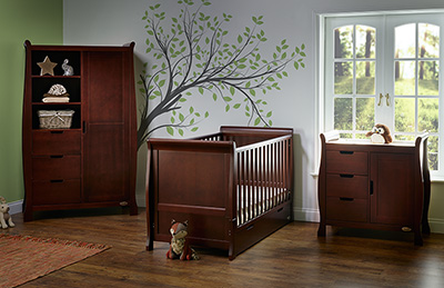STAMFORD CLASSIC 3 PIECE ROOM SET - WALNUT