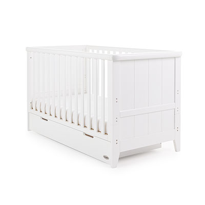BELTON COT BED - WHITE (Free Pocket Sprung Mattress)