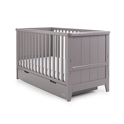 BELTON COT BED - TAUPE GREY