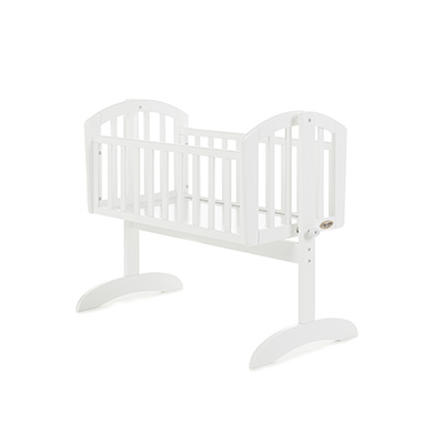 SOPHIE SWINGING CRIB - WHITE