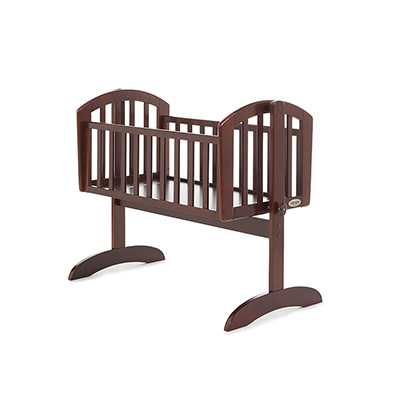 SOPHIE SWINGING CRIB - WALNUT