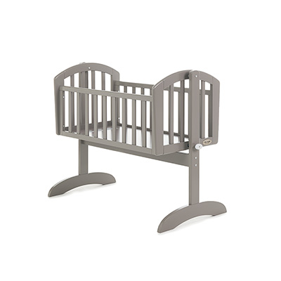 SOPHIE SWINGING CRIB - TAUPE GREY