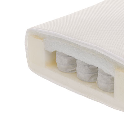 140 x 70cm BREATHABLE DUAL CORE MATTRESS