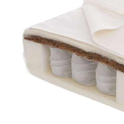 120 x 60cm MOISTURE MANAGEMENT DUAL CORE MATTRESS