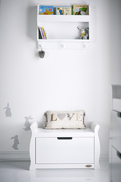 STAMFORD TOY BOX - WHITE