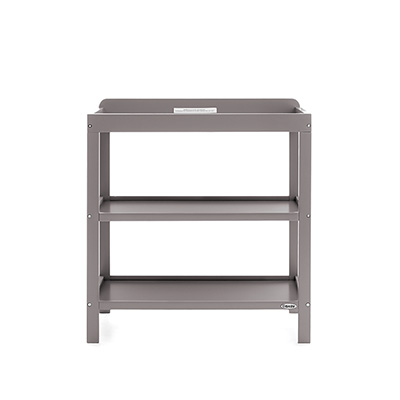 OPEN CHANGING UNIT - TAUPE GREY
