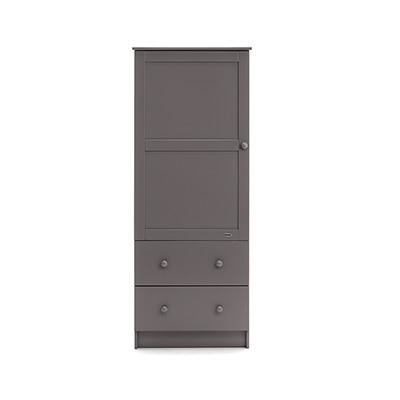 SINGLE WARDROBE - TAUPE GREY
