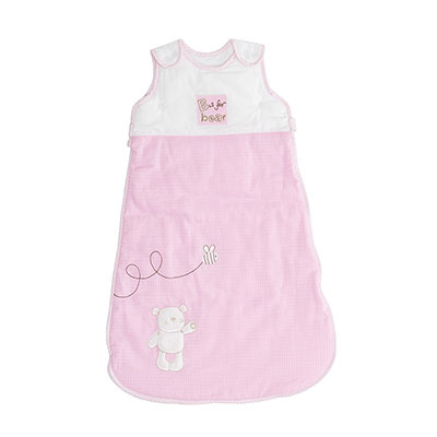 B IS FOR BEAR SLEEPING BAGS (6-18) - PINK