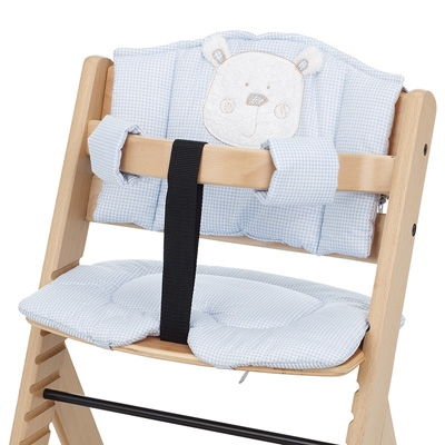 OBABY HIGHCHAIR B IS FOR BEAR PADDING - BLUE
