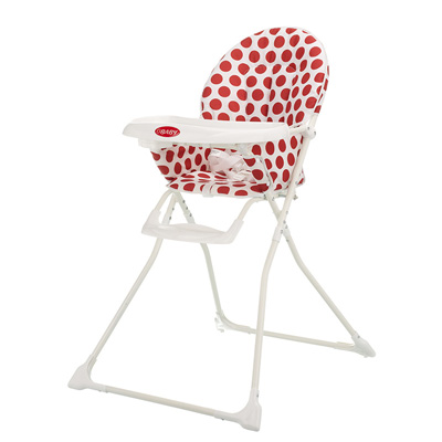 MUNCHY HIGHCHAIR - DOTTY RED