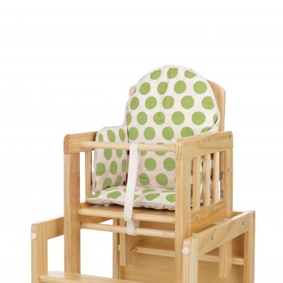 OBABY HIGHCHAIR INSERT - DOTTY LIME