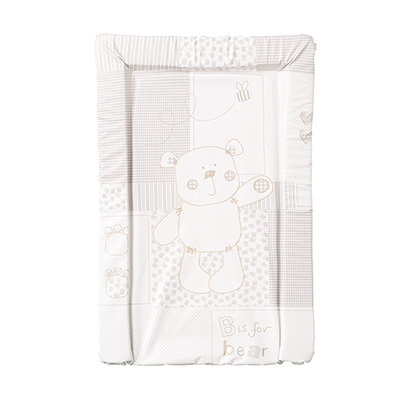 B IS FOR BEAR CHANGING MAT - WHITE