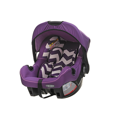 GROUP 0+ INFANT CAR SEAT - ZIGZAG PURPLE