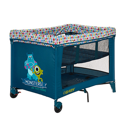 DISNEY TRAVEL COT & BASSINETTE - MONSTERS INC