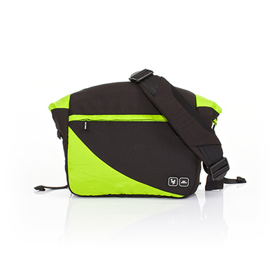 ABC DESIGN COURIER CHANGING BAG - LIME