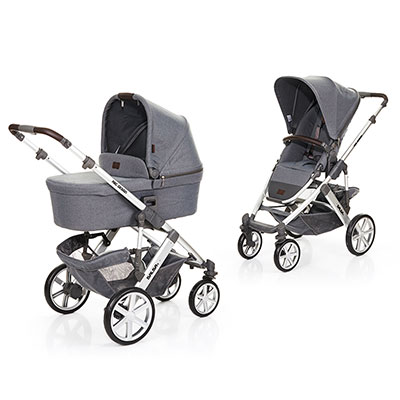 ABC DESIGN SALSA 4 PUSHCHAIR & CARRYCOT - MOUNTAIN