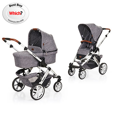 ABC DESIGN SALSA 4 PUSHCHAIR & CARRYCOT - RACE