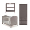 WHITBY 3 PIECE ROOM SET - TAUPE GREY
