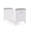 TINY TATTY TEDDY COT BED - GREY (FREE FOAM MATTRESS)
