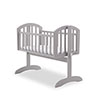 SOPHIE SWINGING CRIB - WARM GREY