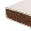 140 x 70cm NATURAL COIR/WOOL MATTRESS