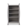 STAMFORD BOOKCASE - WARM GREY