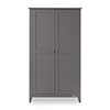 BELTON DOUBLE WARDROBE - TAUPE GREY