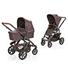 ABC DESIGN SALSA 4 PUSHCHAIR & CARRYCOT - WALNUT