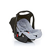 2016+ ABC DESIGN RISUS 0+ CAR SEAT - GRAPHITE with Cobra Plus/Mamba Plus adaptor