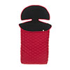 OBABY ZEZU QUILTED FOOTMUFF - RED