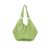 OBABY POMPOM CHANGING BAG - LIME