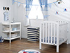 LILY 2 PIECE ROOM SET - WHITE
