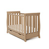 STAMFORD MINI SLEIGH COT BED - ICED COFFEE