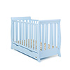 STAMFORD MINI SLEIGH COT BED - BONBON BLUE