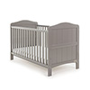 OBABY WHITBY COT BED - TAUPE GREY (FREE SPRUNG MATTRESS)
