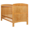 GRACE COT BED - COUNTRY PINE (FREE FOAM MATTRESS)
